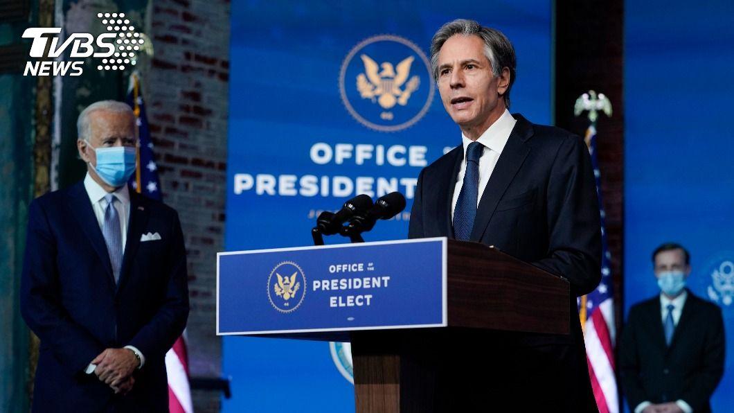 美國務卿提名人布林肯。(圖/達志影像美聯社) 拜登就職前夕 美國務卿人事聽證會19日登場