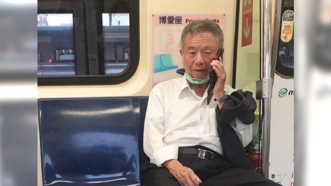捷運「脫口罩講電話」遭酸 楊志良回應了