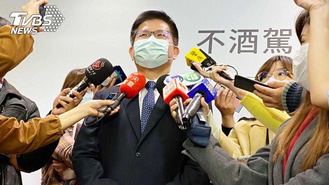 交通部長林佳龍。(圖/中央社) 台灣燈會首度停辦 林佳龍:疫情在第一級的臨界點