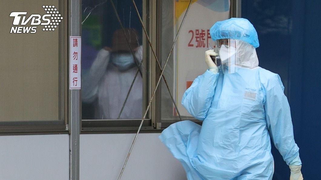 桃園醫院爆群聚感染。(圖/中央社) 國內疫情升溫 黃偉哲、侯友宜力挺桃園並肩作戰