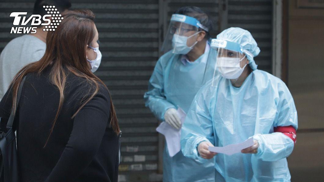 香港延長防疫措施兩週。(圖/中央社) 新冠疫情仍嚴峻 港府延長防疫措施2週至年初六