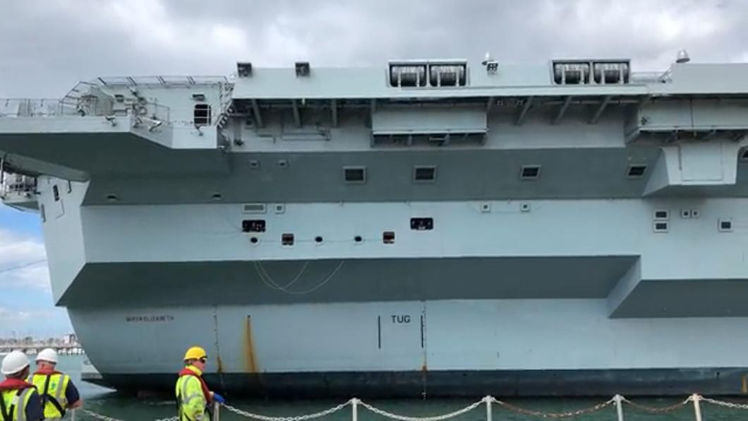 美英簽署聯合聲明 共同組成航母戰鬥群