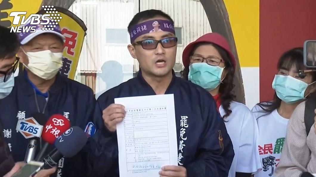 罷捷總部發言人控訴,疑似遭到綠營查水表。(圖/TVBS) 罷捷發言人疑遭查水表 控「綠色恐怖清算」真相曝光