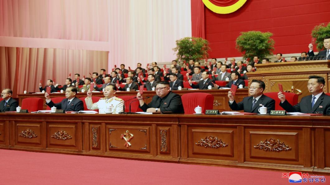圖/達志影像路透 北韓全代會落幕 閱兵式50支部隊精銳盡出