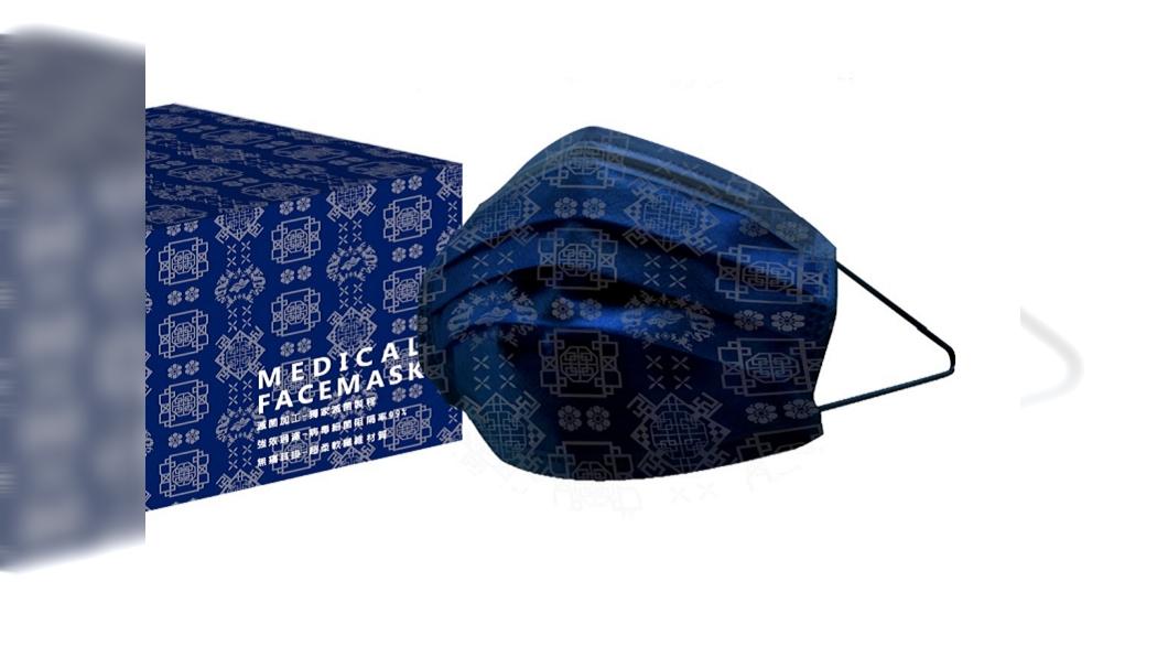 萊潔推出絲綢系列口罩。(圖/萊潔生醫提供) 潮人必收絲綢款口罩 潮流x藝術藍黑粉3色齊發