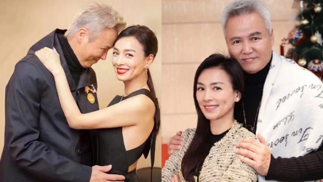 林瑞陽和張庭結婚多年。(圖/翻攝自微博) 林瑞陽盛粥「少女下跪卑微領」惹議 員工曝真相:應該的