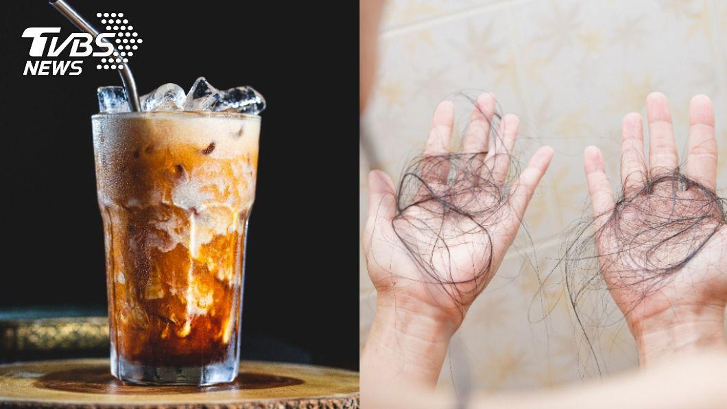 咖啡、奶茶也會傷害頭髮健康。(示意圖/shutterstock達志影像) 咖啡、奶茶恐傷害頭毛 點名4類NG飲料易導致落髮