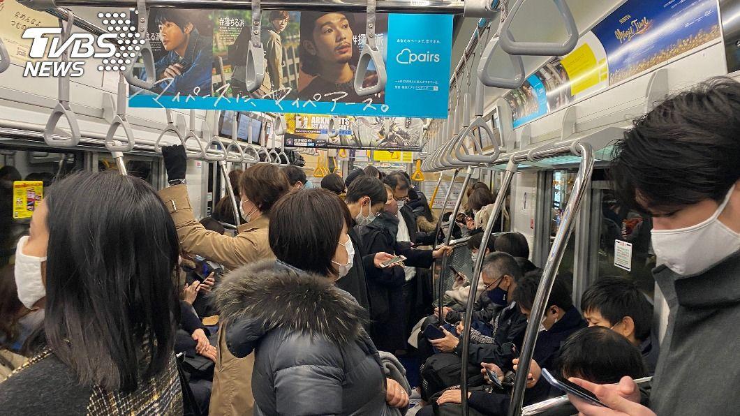 日本確診病例未大幅下降。(圖/中央社資料照) 日本新冠疫情未大幅改善 緊急事態宣言可能延長