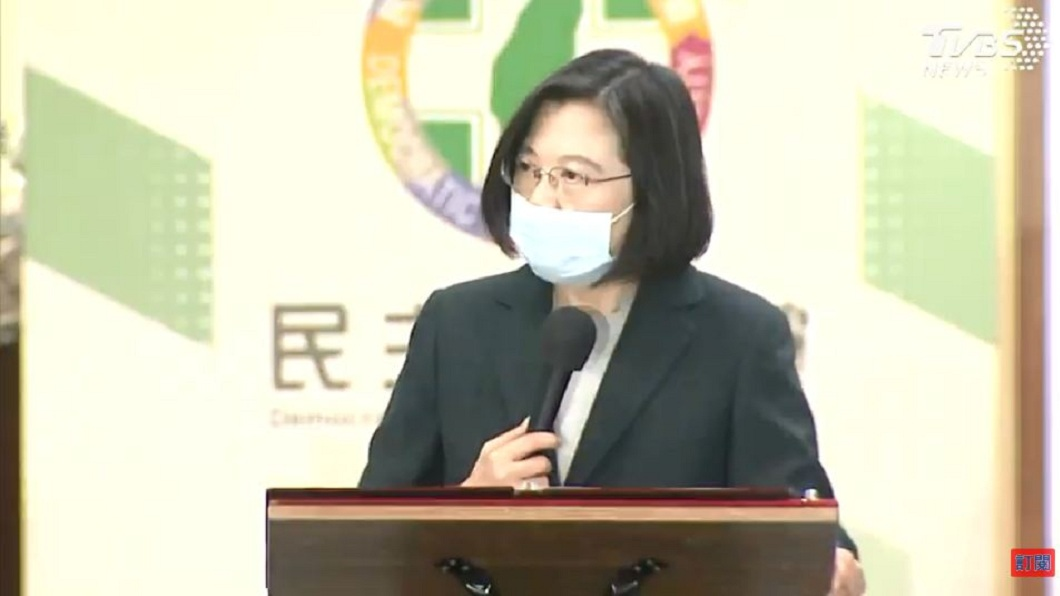 防疫過程難免起伏 蔡英文:國人把握3關鍵