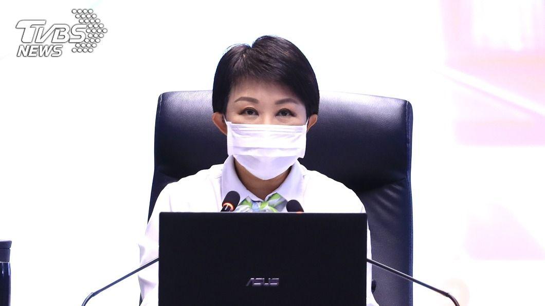 台中市長盧秀燕。(圖/中央社) 中火燃煤機組除役否? 盧秀燕:強力監督、改善空污