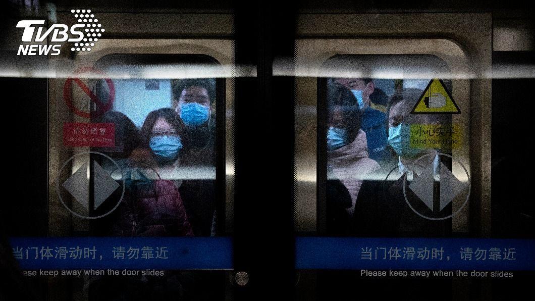 陸增75例新冠確診。(圖/達志影像美聯社) 大陸新增75例新冠肺炎確診 本土占55例