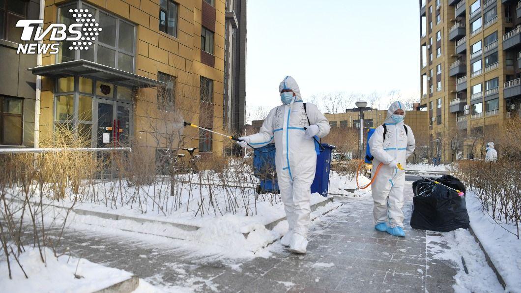 陸新增54例新冠肺炎確診病例。(圖/中央社) 大陸新增54例新冠肺炎確診 本土病例占41宗