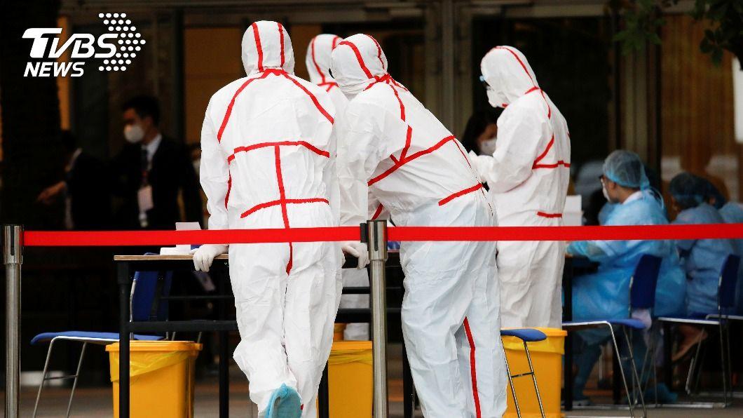 越南再度爆發新冠肺炎疫情。(圖/達志影像路透社) 越南本土新冠疫情連環爆 首都河內市也淪陷