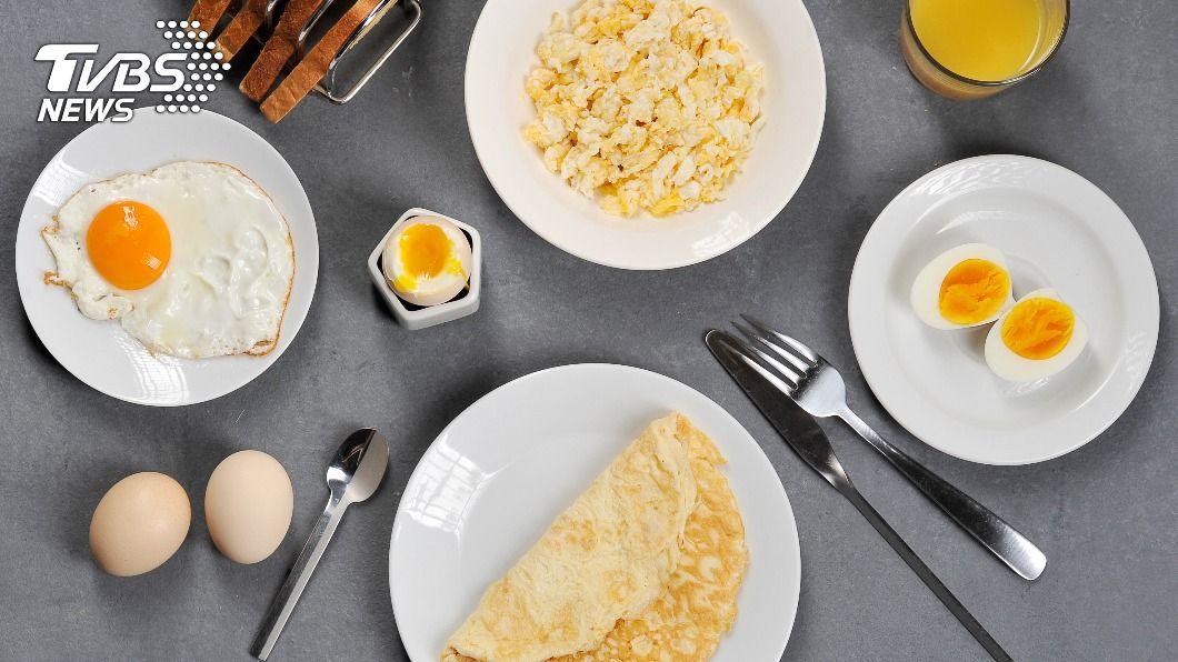 不同的蛋料理熱量大不相同。(示意圖/shutterstock達志影像) 最低熱量非水煮蛋!「蛋料理排名」3族群少吃茶葉蛋