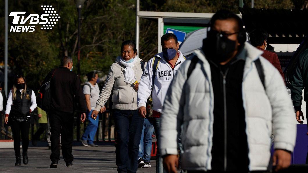 (圖/達志影像路透社) 墨西哥通報染疫死亡人數超越印度 全球排名第3