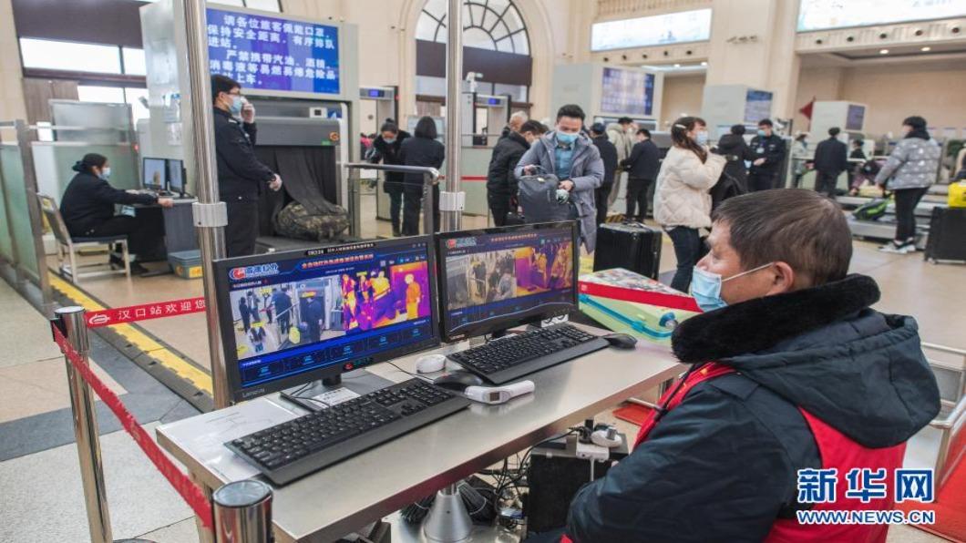 圖/翻攝自 新華網 中國大陸春運點燃核酸檢測市場 需求估6億劑