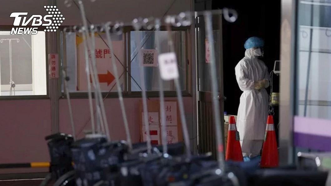 部桃日前爆發院內群聚感染。(圖/TVBS資料畫面) 護理師全家染疫「最怕1件事」 過世婆婆後事將延後