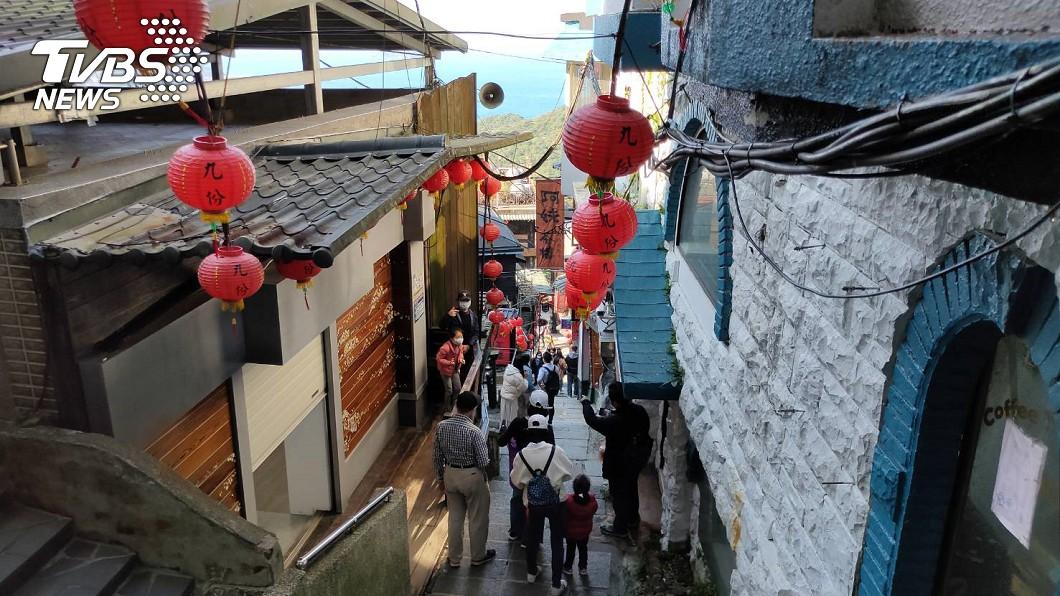 案908曾去過阿妹茶樓。(圖/TVBS) 「平鎮某醫院」染疫家屬足跡曝光 去過大溪、九份老街