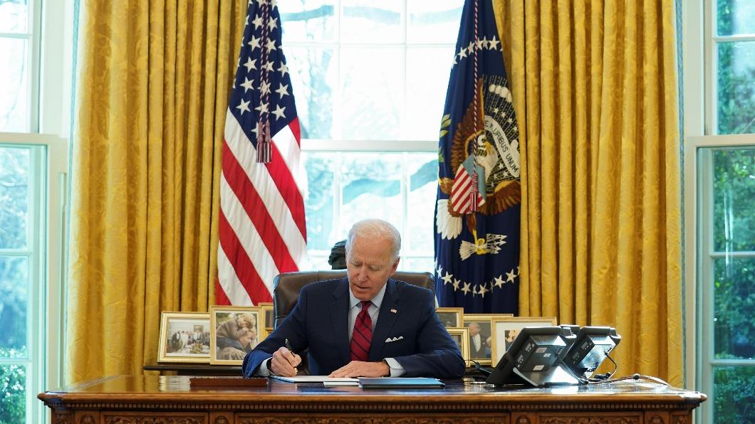 圖/達志影像路透社 各界矚目 美國總統拜登2月1日將首次發表外交政策重要演講