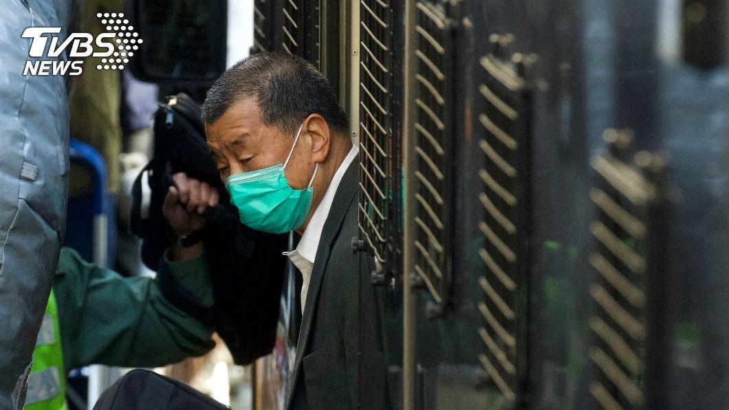 壹傳媒集團創辦人黎智英。(圖/達志影像美聯社) 黎智英涉違國家安全 香港終審法院今審理保釋