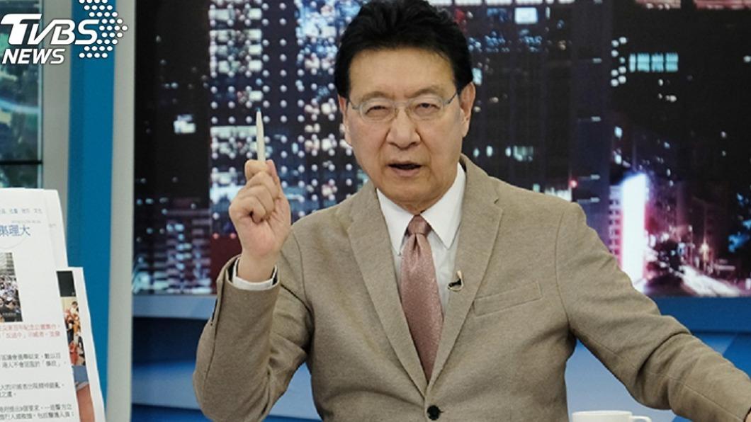 TVBS《少康戰情室》主持人趙少康。(圖/TVBS資料畫面) 憂台灣亡國才回國民黨? 沈富雄連發猛問挑戰趙少康