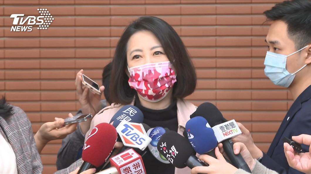 民進黨立委吳思瑤。(圖/TVBS) 國民黨北市議員推動罷免 吳思瑤:權利不該被濫用