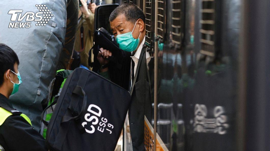 香港終審法院宣布,黎智英需還押看管。(圖/達志影像路透社) 黎智英申請保釋案 香港終院押後宣判