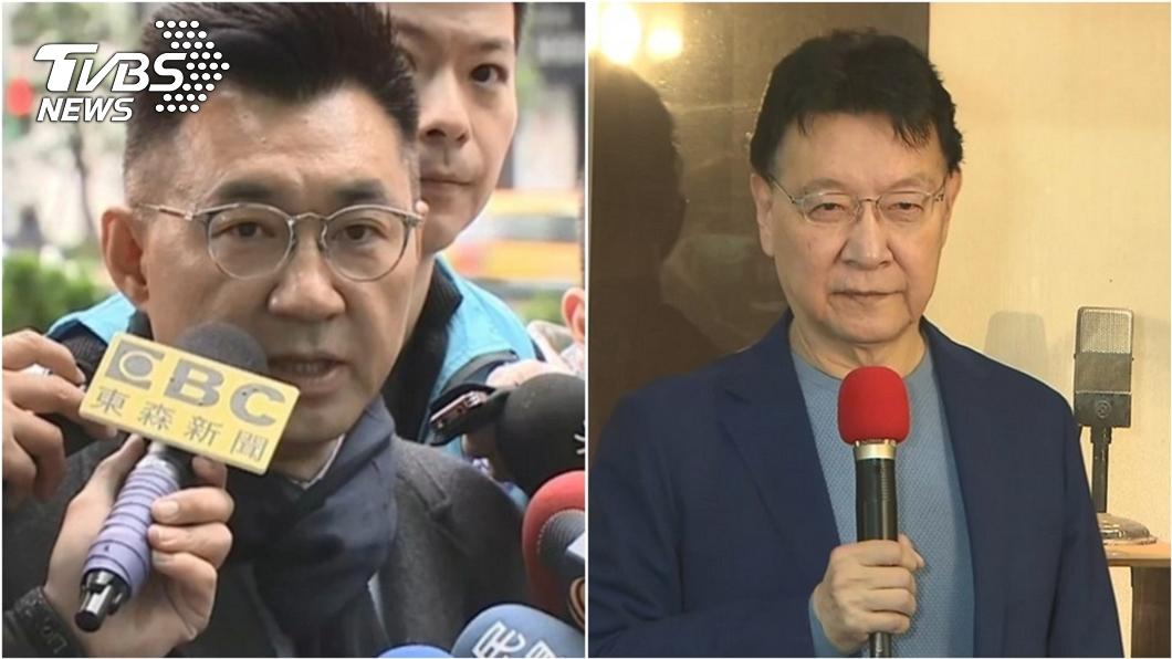 (圖/TVBS資料畫面) 趙少康回歸國民黨劍指黨魁? 江啟臣一席話曝端倪
