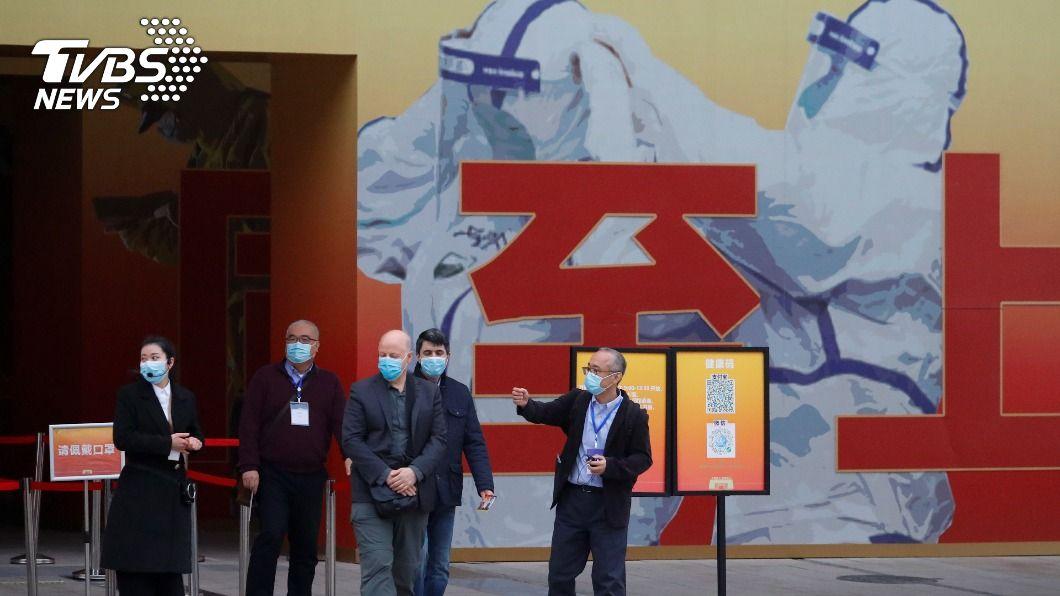 世衛國際專家組正在武漢訪問。(圖/達志影像路透社) 世衛官員呼籲 讓國際專家小組在武漢自由訪問