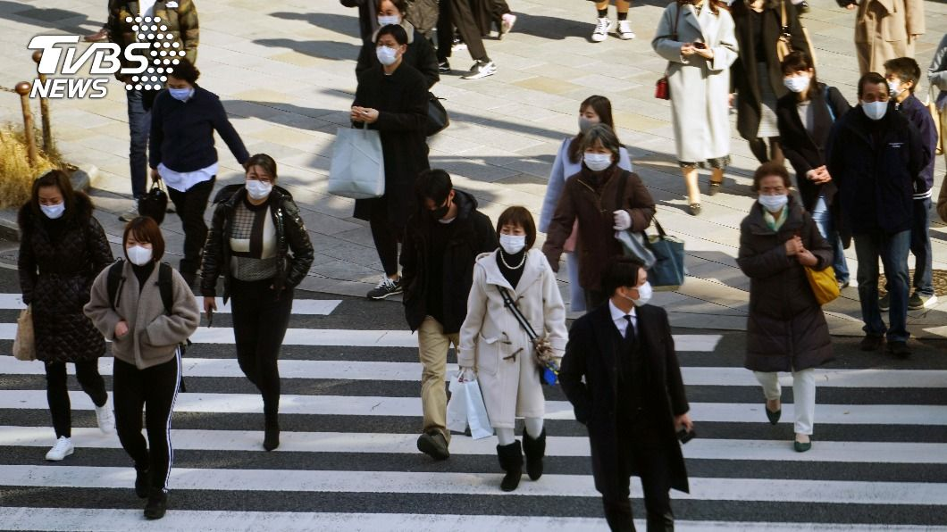 日本新冠肺炎疫情嚴重。(圖/達志影像美聯社) 日本疫情仍嚴峻 日媒:緊急事態宣言將延至3/7