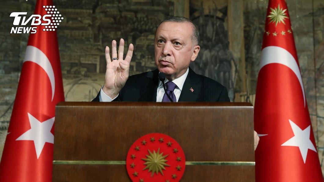 土耳其總統艾爾段。(圖/達志影像美聯社) 大權獨攬2年多 土耳其總統艾爾段抛起草新憲法