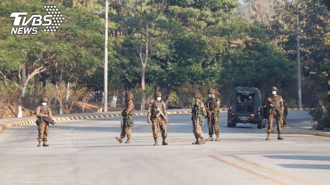 圖/達志影像路透社 美國務院正式認定緬甸發生軍事政變 將暫停援助
