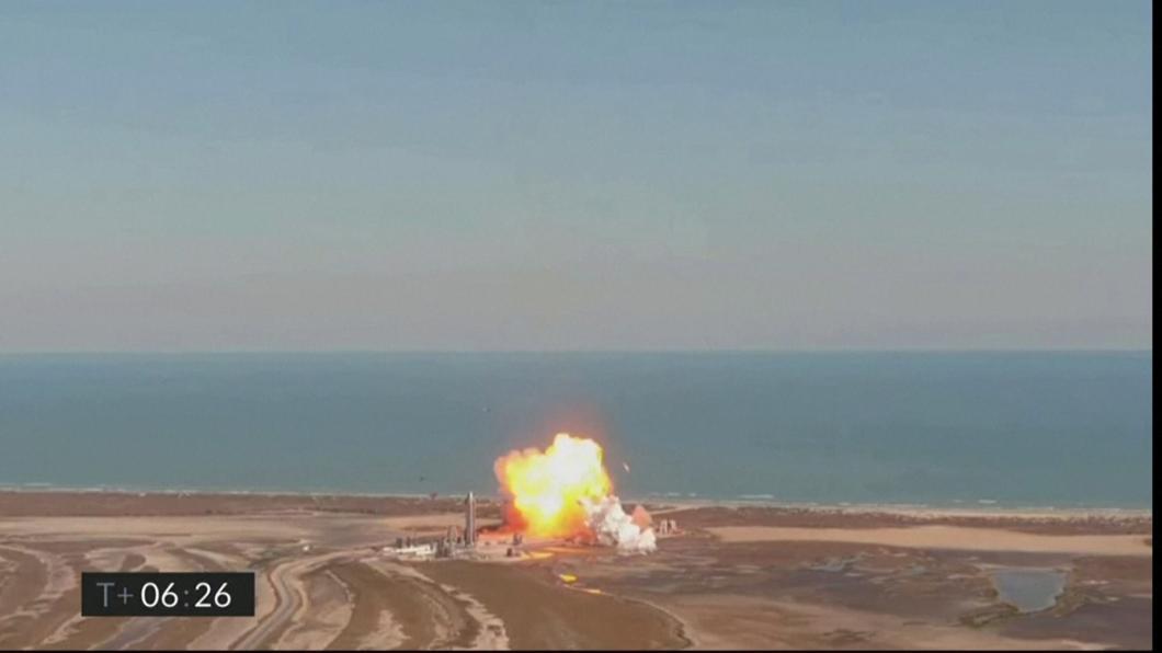 SpaceX載人火箭測試失敗 爆炸化為火球