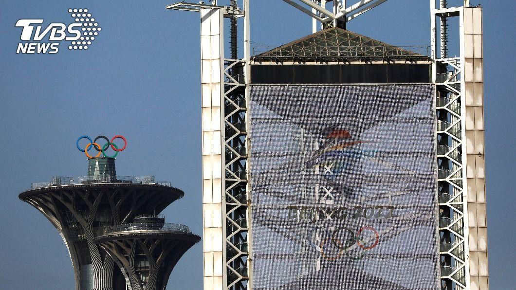 北京取得2022年冬奧主辦權。(圖/達志影像路透社) 迫維吾爾脅台灣 美議員促取消北京主辦2022冬奧