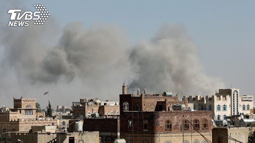 沙烏地阿拉伯對葉門發動空襲。(圖/達志影像路透社) 拜登重大外交政策 不再支持沙烏地介入葉門內戰