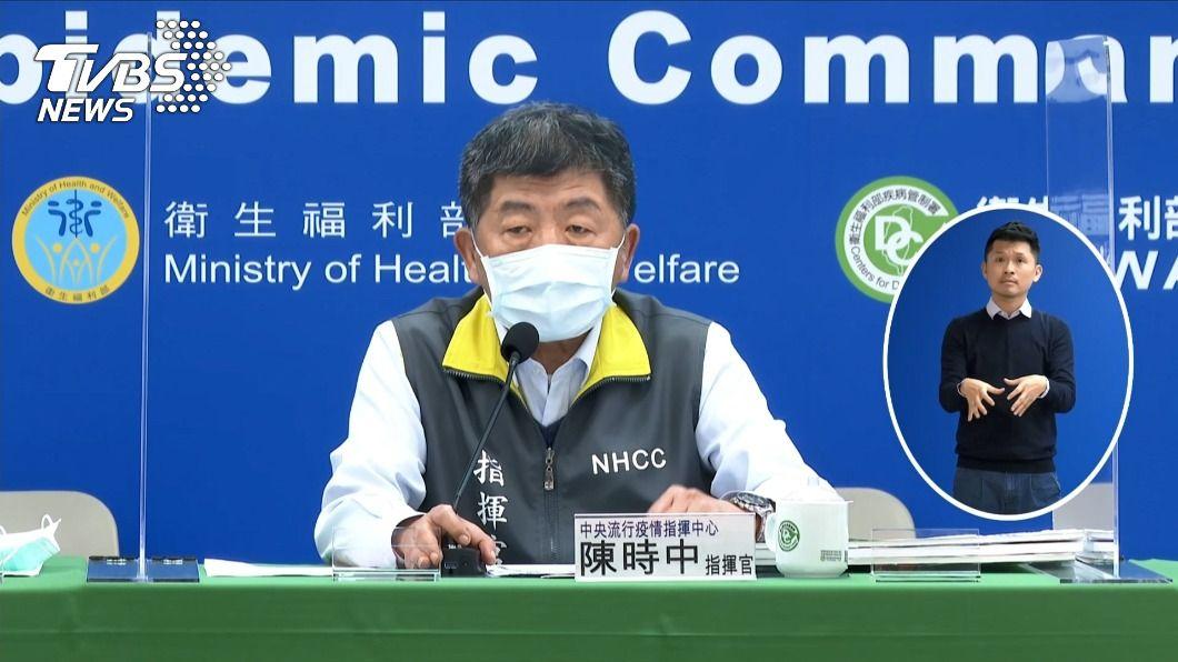 (圖/TVBS) 是否帶頭接種新冠肺炎疫苗? 陳時中:量夠就先打