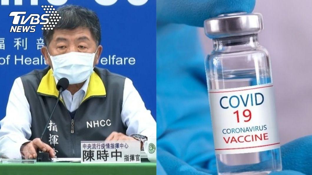 陳時中分析兩種情況,自己才會施打COVAX疫苗。(圖/TVBS、shutterstock 達志影像) COVAX疫苗到貨先不打!陳時中:兩種情況才接種