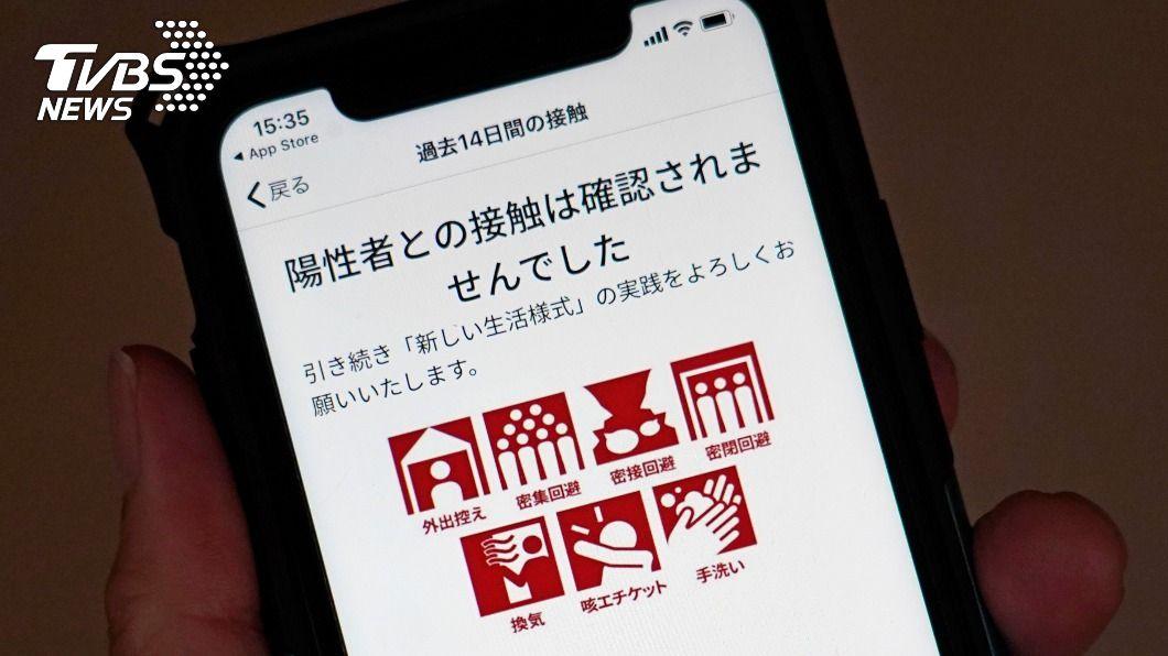 (圖/達志影像美聯社) 日本防疫APP出包4個月 菅義偉道歉但拒處分大臣