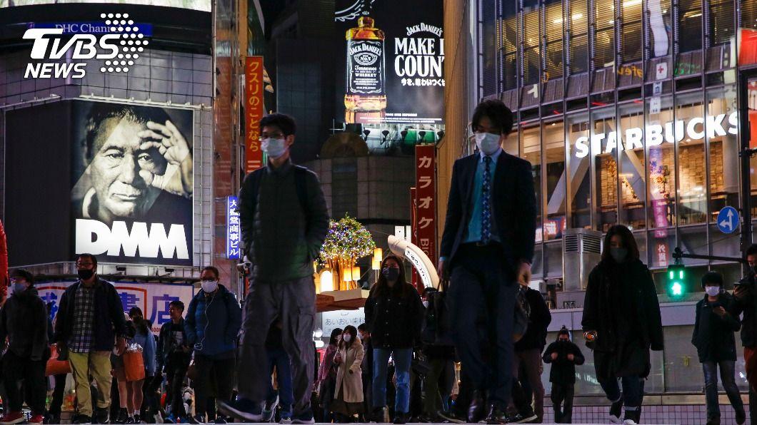 調查顯示東京等處體內有新冠肺炎抗體的民眾不到1%。(圖/達志影像美聯社) 東京等處有新冠肺炎抗體者不到1% 群體免疫尚遠