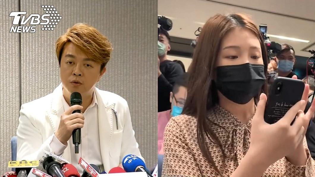 女星雞排妹(鄭家純)指控翁立友性騷案持續延燒。(圖/TVBS資料畫面) 疑似目擊者爆「雞排妹被刷卡侵臀」 翁立友說話了