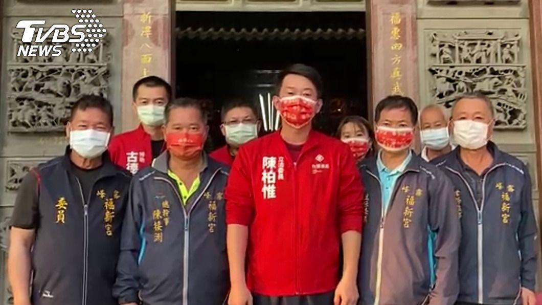 圖/中央社 黃捷罷免案不通過 陳柏惟提3點:不被台灣人民接受