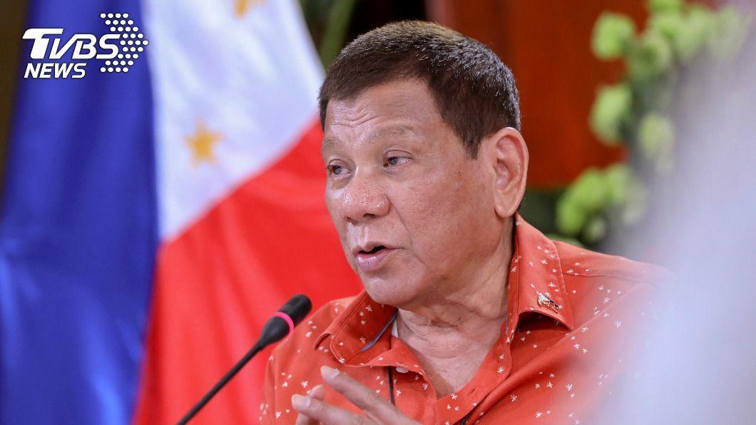 菲律賓總統杜特蒂。(圖/達志影像美聯社) 杜特蒂執政最後一年半 政經局勢挑戰接踵而至