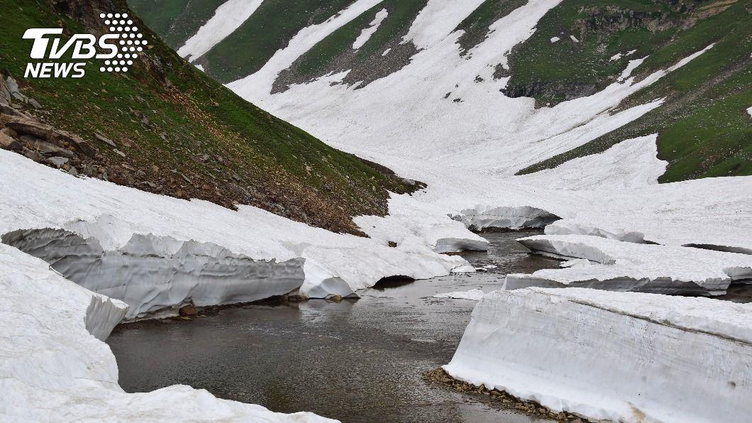 (示意圖/shutterstock 達志影像) 喜馬拉雅山冰川斷引洪災 專家:暖化加速冰河消融