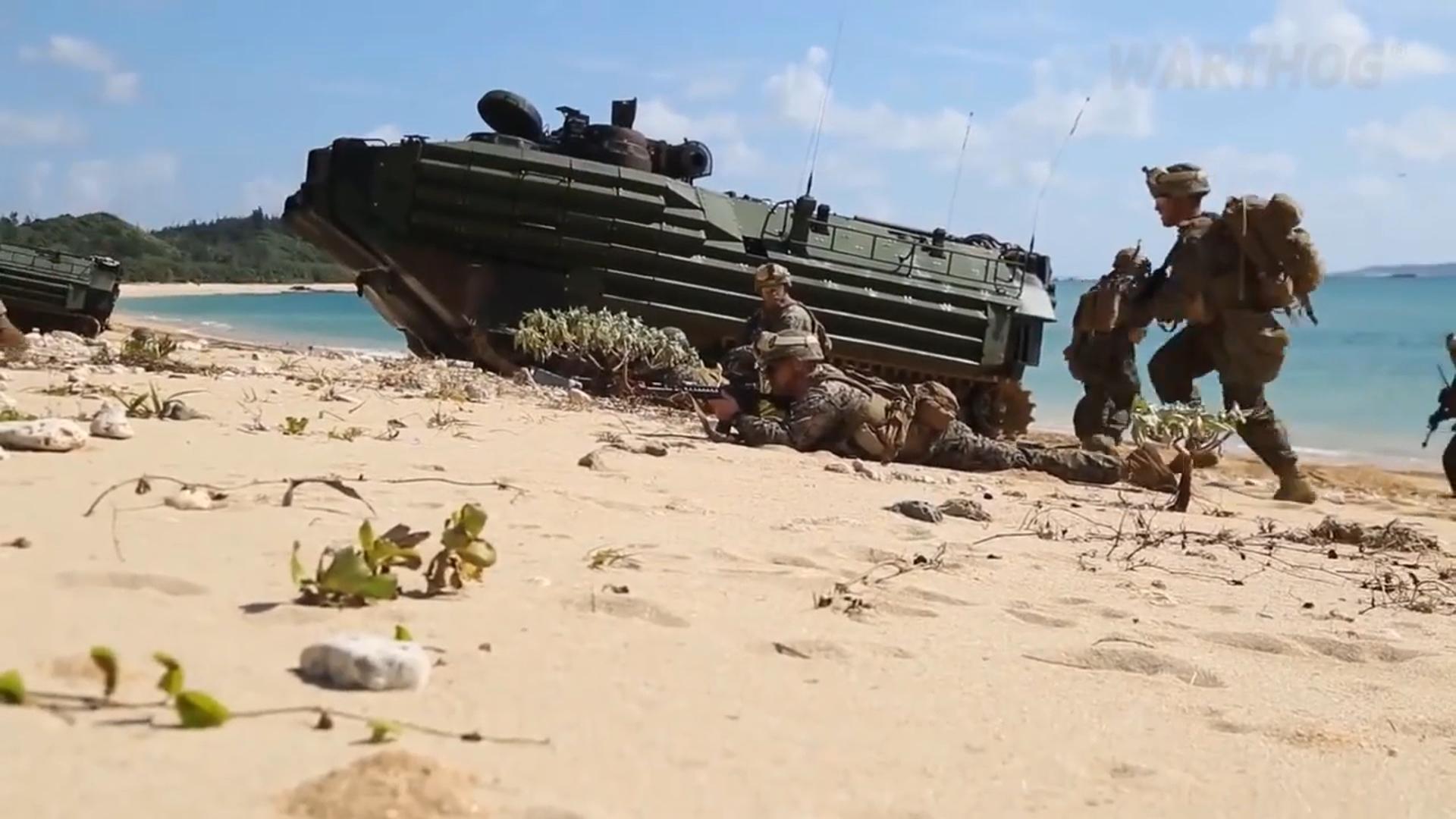 美海軍陸戰隊對中新招 組建3濱海作戰團