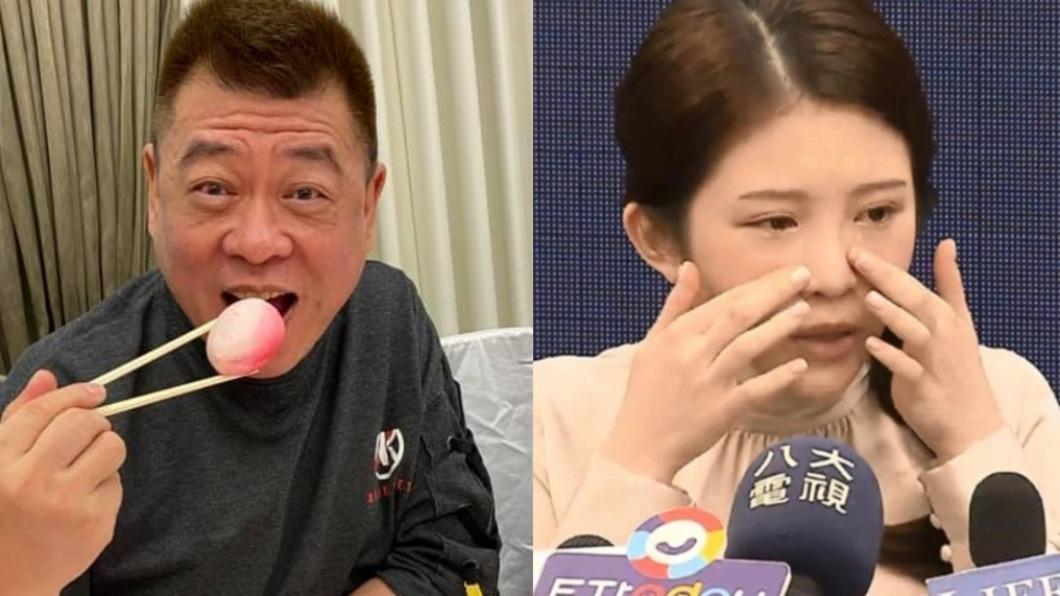 孫德榮曾攻擊雞排妹。(圖/翻攝自孫腫來了臉書、TVBS) 孫德榮嗆「不開黃腔要看啥」 她怒轟:別侮辱台灣觀眾