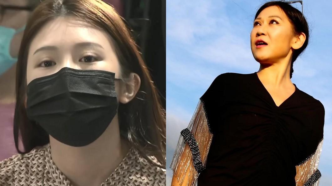 由雞排妹(圖左)引發的性騷擾討論,連帶讓歌手李麗芬也說出當年不舒服的往事。(圖/TVBS、翻攝李麗芬臉書) 揭慘遭抱腰性騷!女歌手公開點名「2個字主持人」