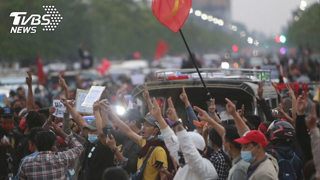 (圖/達志影像美聯社) 聯合國將開會討論緬甸危機 白宮關切、陸不出聲