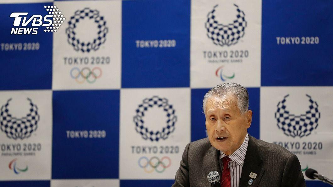 東奧組委會會長森喜朗。(圖/達志影像美聯社) 森喜朗歧視女性發言波及東奧 IOC主席將約詢