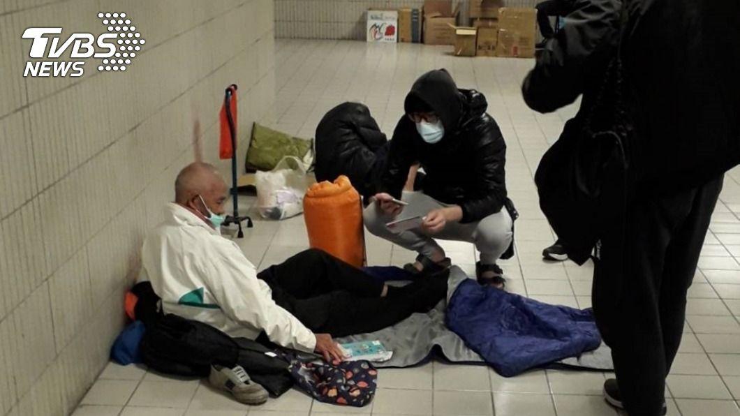 (圖/中央社) 身心治療引入服務 助部分街友脫離流浪