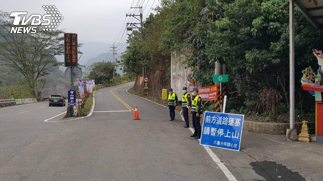 (圖/中央社) 高雄設交管195崗位 景點熱區逾6成就警示人流